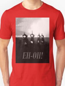 Creepy Teletubbies - say Eh-Oh! Unisex T-Shirt