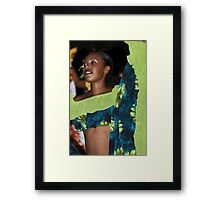 Sega Dancer Framed Print