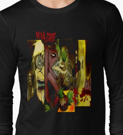 T SHIRT DESIGN: MALLCARBRE COMIC Long Sleeve T-Shirt