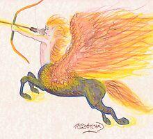 Fire Centaur by pegacorna