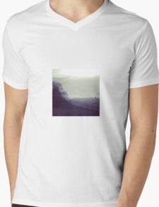 Morning on the Levee Mens V-Neck T-Shirt