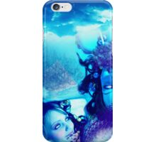 Dreaming in Blue Hue iPhone Case/Skin