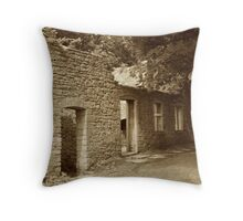Tyneham Cottages Throw Pillow