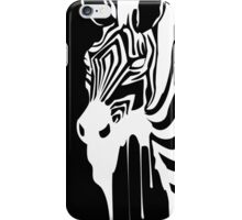 Zebra Melting iPhone Case/Skin