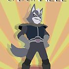 Wolf O'Donnell Art Deco (Star Fox) by CalvertSheik