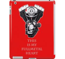 Fullmetal Harley iPad Case/Skin
