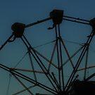 Evening Ferris Wheel by CanvasMan