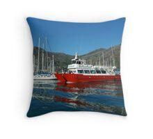 Nauticat Throw Pillow