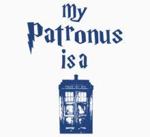 my patronus is a tardis  by killakams