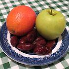 Blood Orange, Green Apple and Delicious Dates by SunriseRose