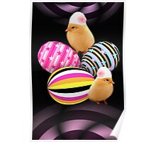 CHICKS WITH A NEW ATTITUDE PEEPS    Poster