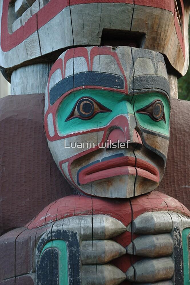 Totem Pole by Luann wilslef