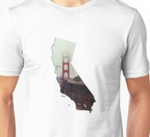 San Francisco Golden Gate Bridge, California hipster Unisex T-Shirt
