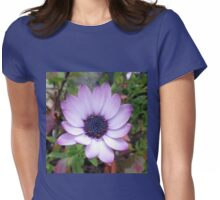 Dancing Daisy - Square Format Womens Fitted T-Shirt