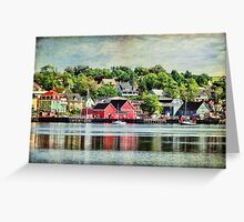 Lunenburg, Nova Scotia Greeting Card