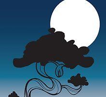 Blue Bonsai by skinnyginny