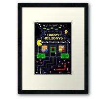 Arcade Holiday Framed Print