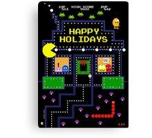 Arcade Holiday Canvas Print