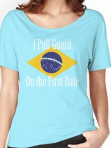 First Date BJJ (White) Women's Relaxed Fit T-Shirt