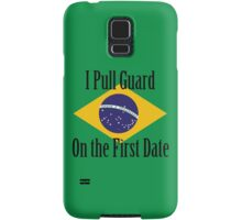 First Date BJJ (Black) Samsung Galaxy Case/Skin