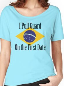 First Date BJJ (Black) Women's Relaxed Fit T-Shirt