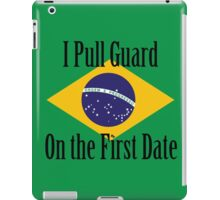 First Date BJJ (Black) iPad Case/Skin