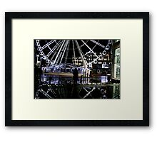 wet dating Framed Print