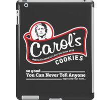 Carol's Cookies. iPad Case/Skin