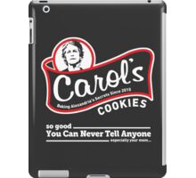 Carol's Cookies. iPad Case/Skin