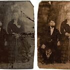 Ayres  Tin-Type Restoration Circa 1875 by Paul Gitto