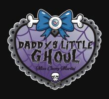 Daddys Little Ghoul Baby Tee