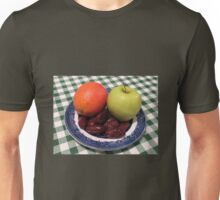 Blood Orange, Green Apple and Delicious Dates Unisex T-Shirt