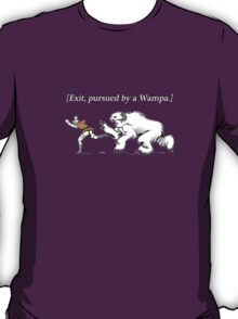 William Shakespeare's Star Wars: Exit, pursued by Wampa T-Shirt