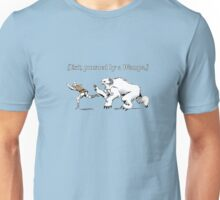 William Shakespeare's Star Wars: Exit, pursued by Wampa Unisex T-Shirt