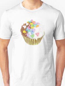 Cupcake Hearts T-shirt Unisex T-Shirt