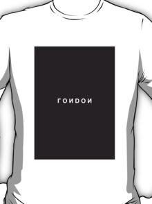 London Minimalist Black & White Tee T-Shirt