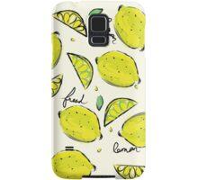 Lemons, Fresh Lemons Samsung Galaxy Case/Skin