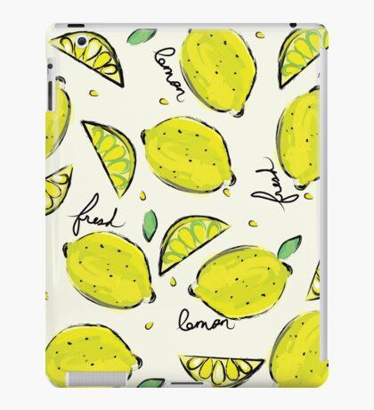 Lemons, Fresh Lemons iPad Case/Skin