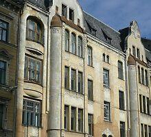 Riga architecture by bubblehex08