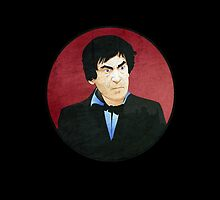 Patrick Troughton - Doctor Who #2 by Chris Singley