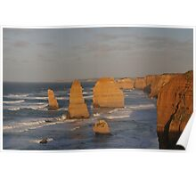 Dawn at the Twelve Apostles Poster