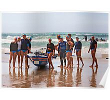 Lorne SLSC surf carnival Feb 2009 (26) Poster