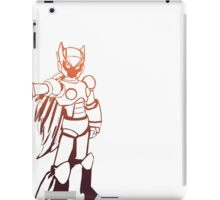 Zero from Megaman (First Variation) iPad Case/Skin