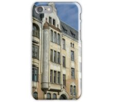 Riga architecture iPhone Case/Skin