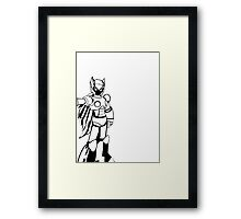 Black Zero from Megaman (Third Variation) Framed Print