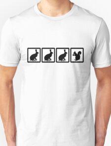 Bunny, bunny, bunny, squirrel? T-Shirt