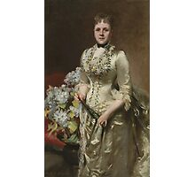 John Singer Sargent (1856–1925), Mrs. Jacob Wendel,1888. Oil on canvas. Photographic Print