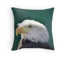 Eagle King Throw Pillow
