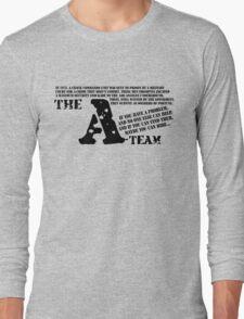 A-TEAM Long Sleeve T-Shirt