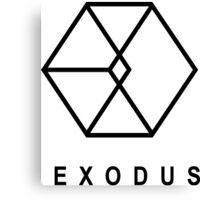 EXODUS LOGO Canvas Print